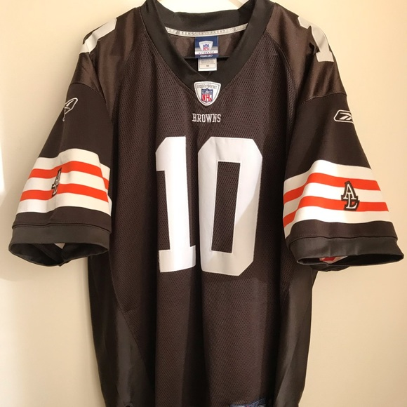Reebok Other | Brady Quinn Throwback Cleveland Browns Jersey Rare